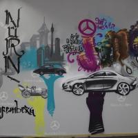 Daimler-Graffiti