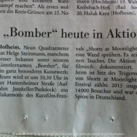 Bomber-Ankündigung