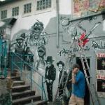 Batschkapp MMural Graffiti Art, Frankfurt-Eschersheim 2004