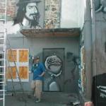 Batschkapp Mural Graffiti Art, Frankfurt-Eschersheim 2004