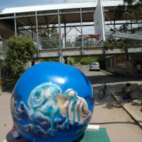 bundklimaballongraffiti