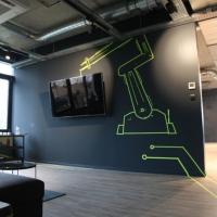 Vinci-Robotik-Tape-Art