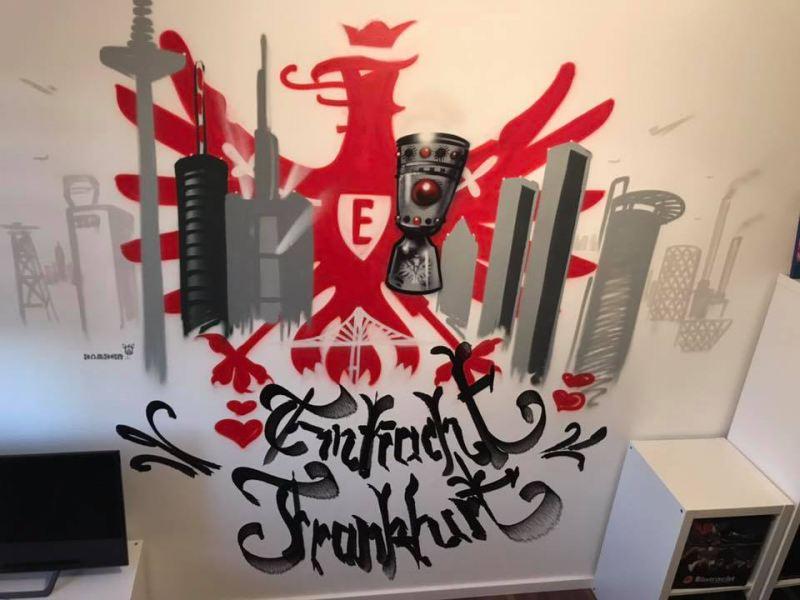 Eintracht Frankfurt Skyline Adler