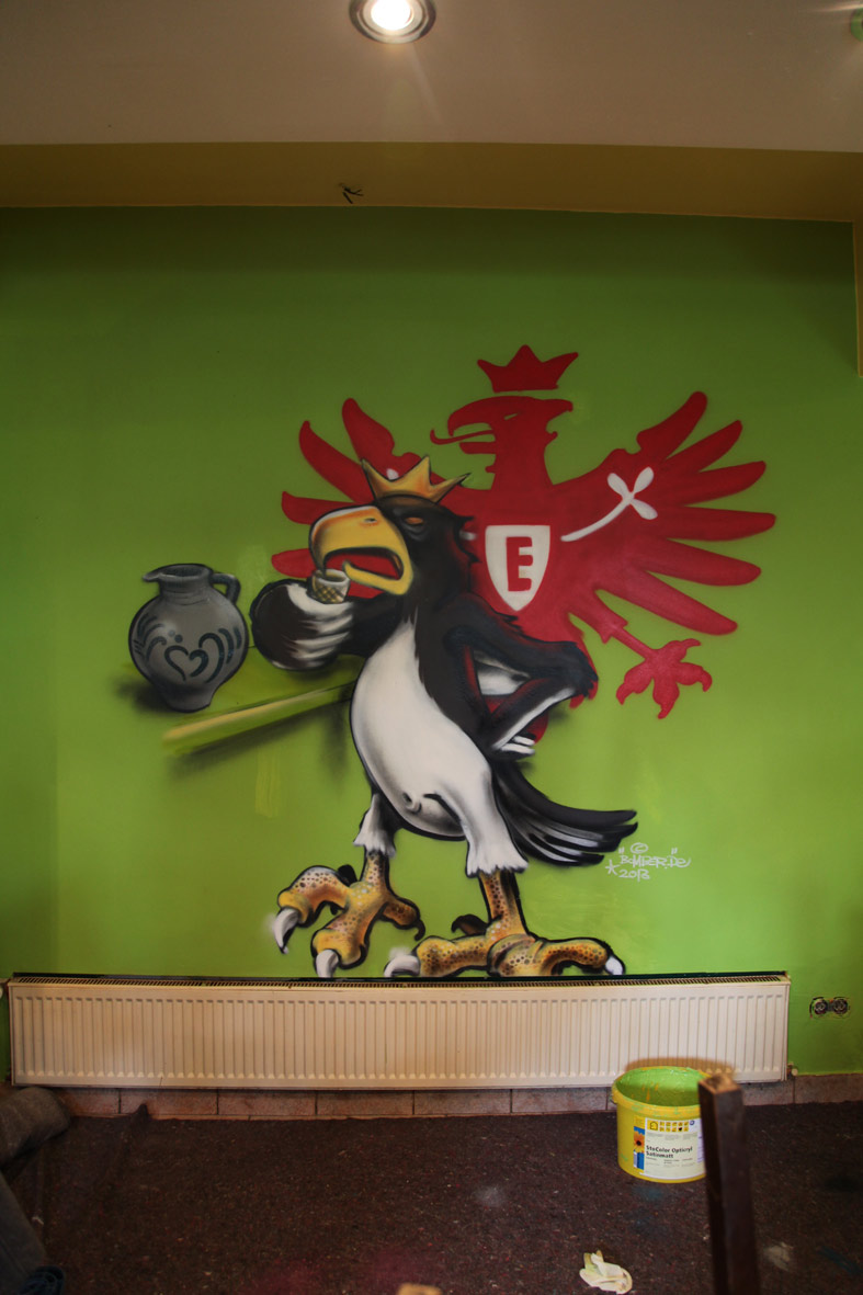 Eintracht-Adler SGE Pilsstube © BOMBER 2011