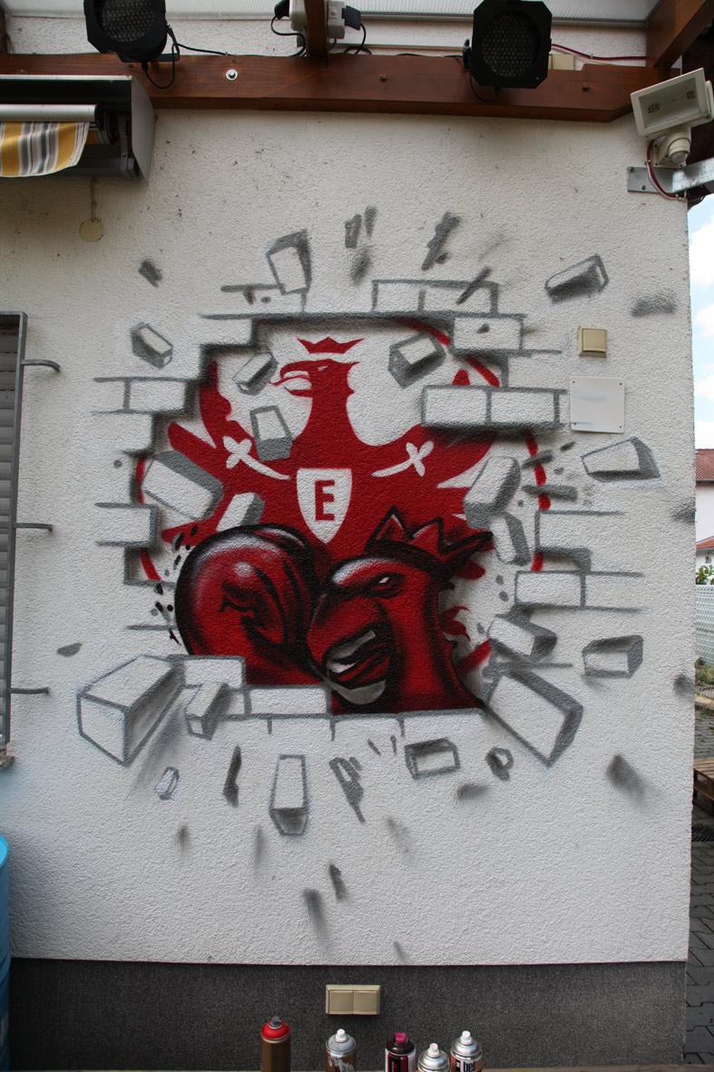 SGE-Adler Eintracht Frankfurt Logo