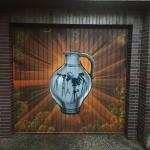 Bembel auf Garage Breuberg Odenwald 2020