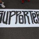 Eintracht Frankfurt supporters