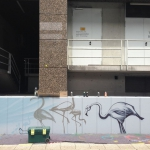 Flamingos_Airport_StreetArt