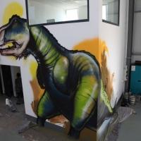 Saurier-Graffiti