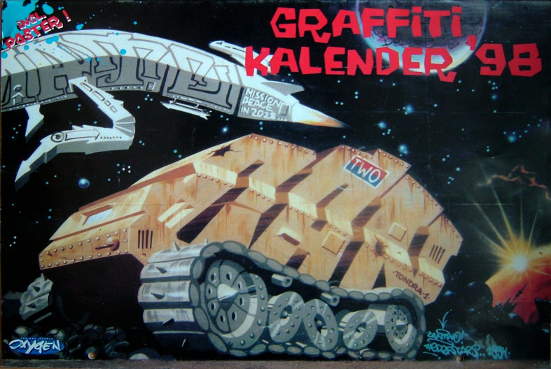 Graffitikalender 1998