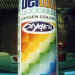 Oxygen the art supply Präsentation der Belton Oxygen Dose 1996