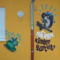 Kindergarten Wandgestaltung