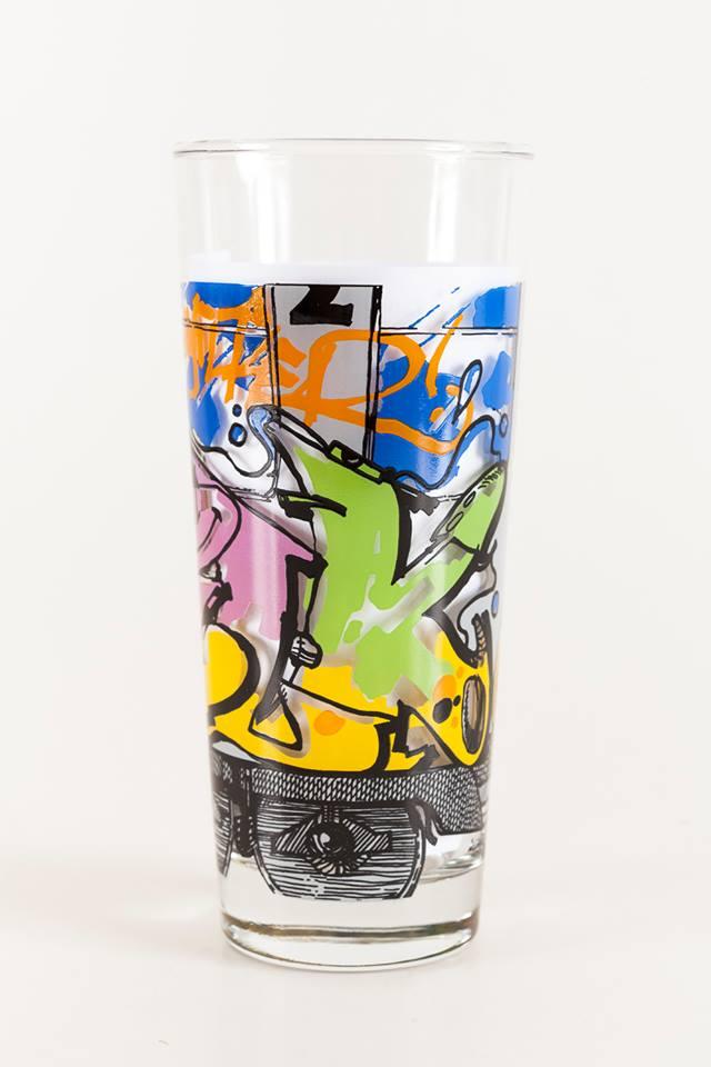 Bomber Limited Edition Ritzenhoff Milchglas 1997