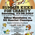 Söhne Mannheims Charity SUMMER KICKS 2007