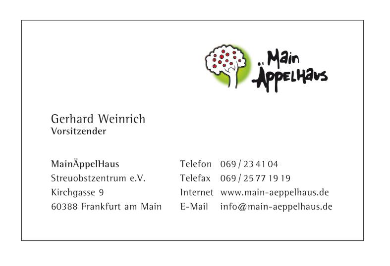 Main AeppelHaus Visitenkarte/Businesscard