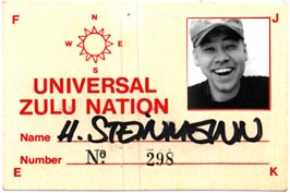 Universal Zulu Nation Member 1994