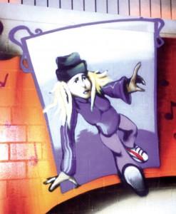 Fly girl, b girl, Luzern Tanzstudio, 1998