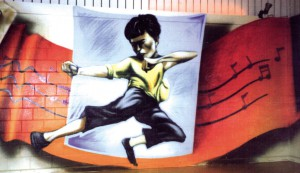 Bruce Lee, Luzern Tanzstudio, 1998