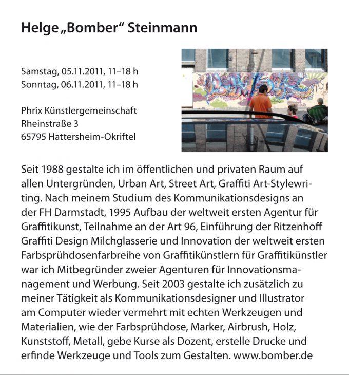 Tage der offenen Ateliers der Stadt Hofheim 2011