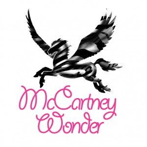 Logo in Form eines Pegasus: McCartney Wonder, 2008