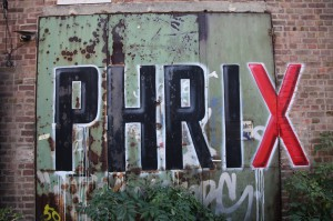 Phrix Logo, Tor 2006, Zustand 2012