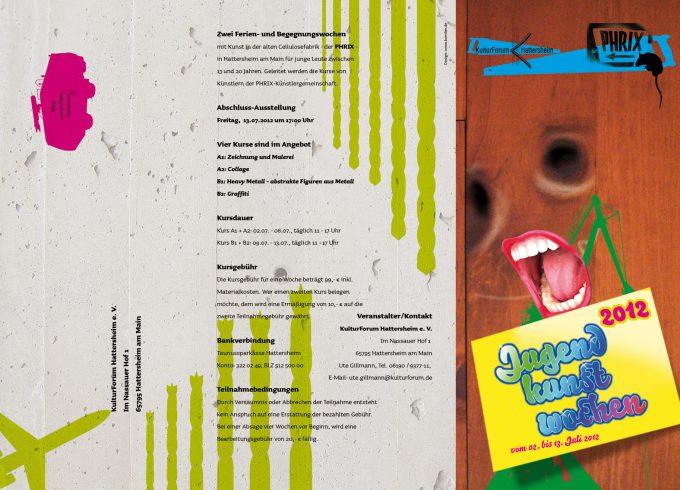 JugendKunstWochen 2012