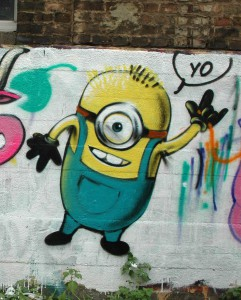 Minion Graffiti, 07, 2012