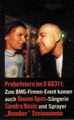 Prinz 1998: Sandra Nasic/Guano Apes