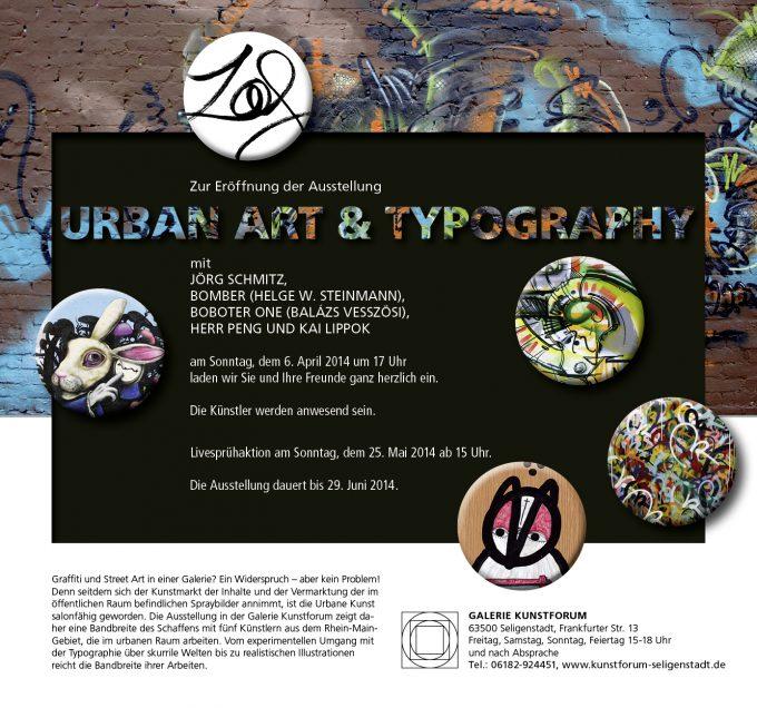 Urban Art & Typographie in der seligen Stadt