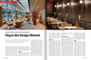 Magazin SAVOIR-VIVRE, Ausgabe September/Oktober 2014 Hilton Frankfurt International Airport, Bomber