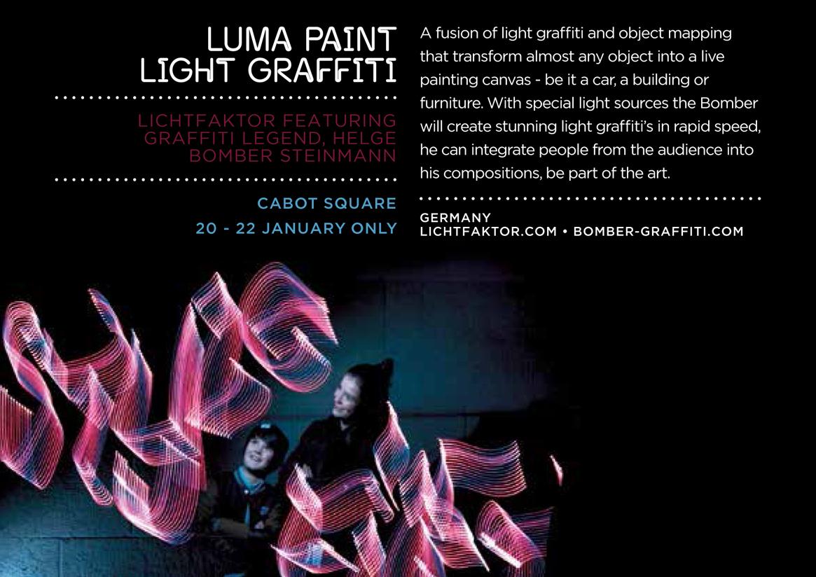 LumaPaint Lightgraffiti