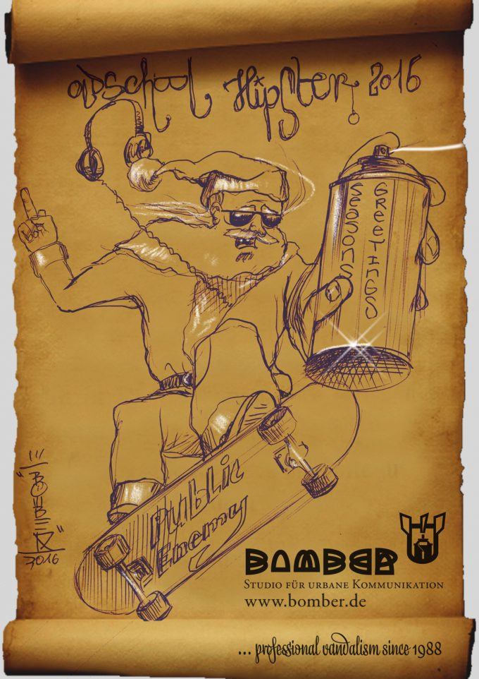 Oldschool Hipster de Luxe