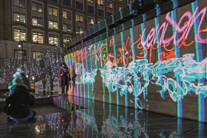 Winter Lights Lightgraffiti 2018