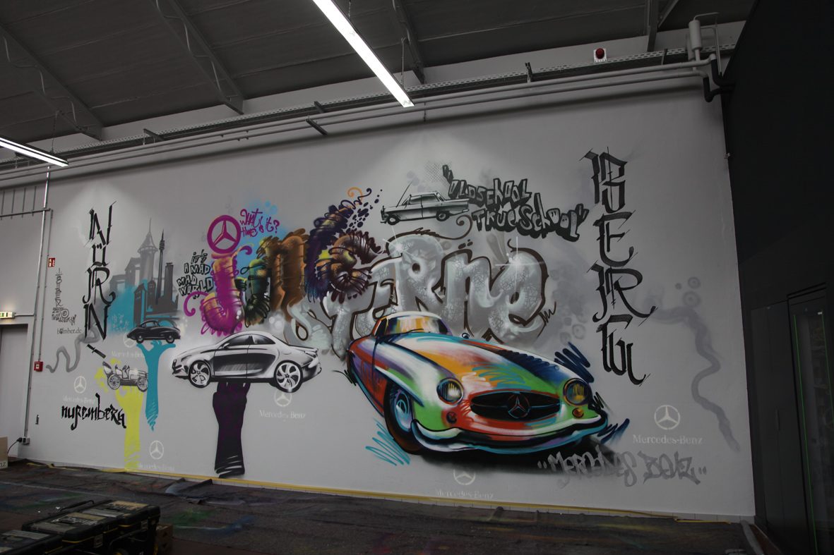 300SLGraffiti