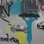 Mercedes-Graffiti