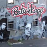 Batschkapp Fassade Graffiti Mural 2004