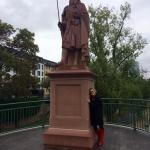 Karl is back Karl der Grosse Statue