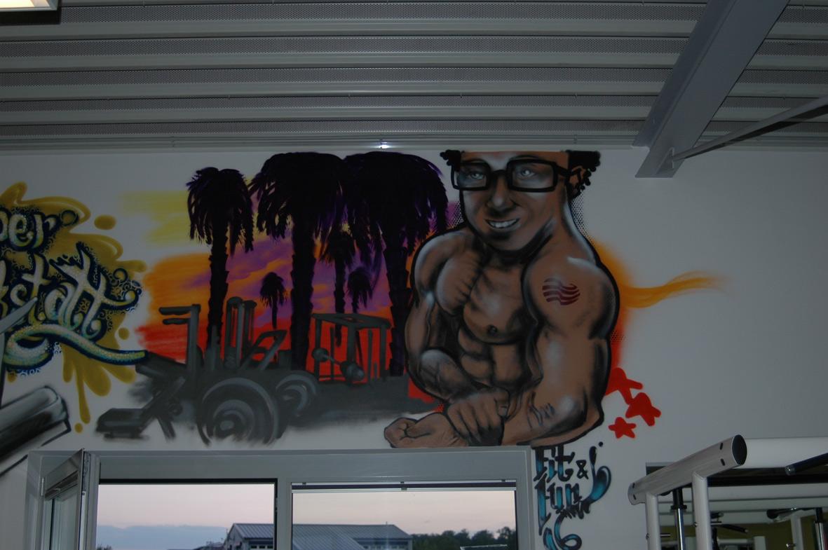 FitnessStudio_Graffiti