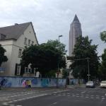 view of the Center for Scientific Computing/Goethe Zentrum für wissenschaftliches Rechnen