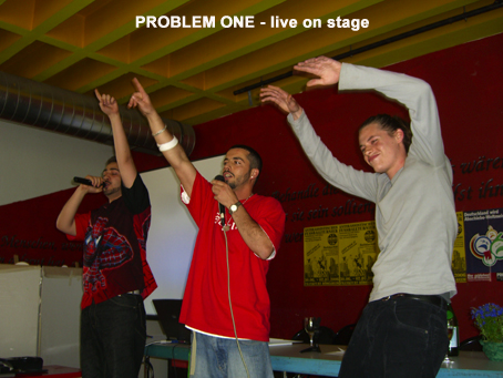 problem-one_live-on-stage