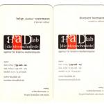 Visitenkarten 2000