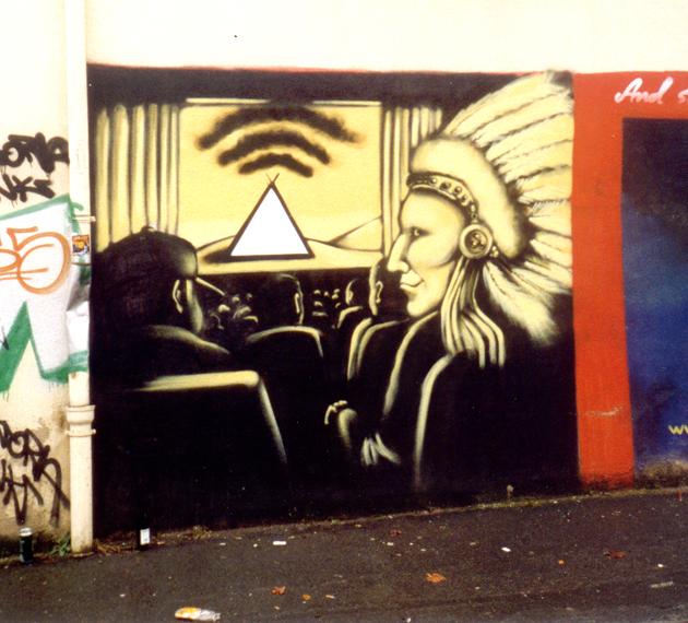 Graffiti Bewegungsmelder