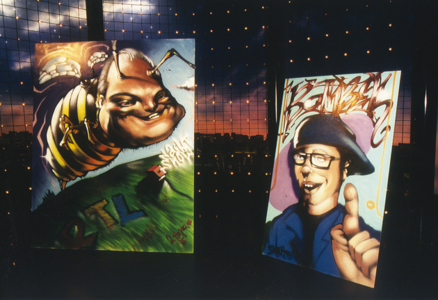 Auftritt RTL Thomas Koschwitz Late Night feat. Ata Bocazi/TOAST und Helge Steinmann/BOMBER 1996