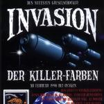 Oxygen the art supply Präsentation der Belton Oxygen Dosen: Invasion der Killer-Farben 1996