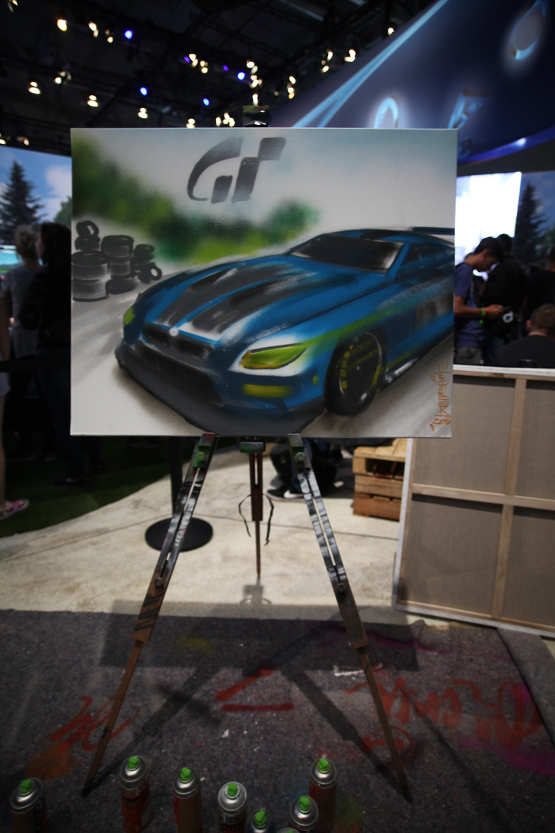 GT-BMW-Staffelei