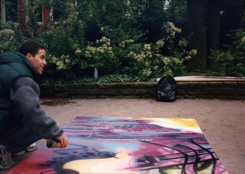 jon One Frankfurt 1994