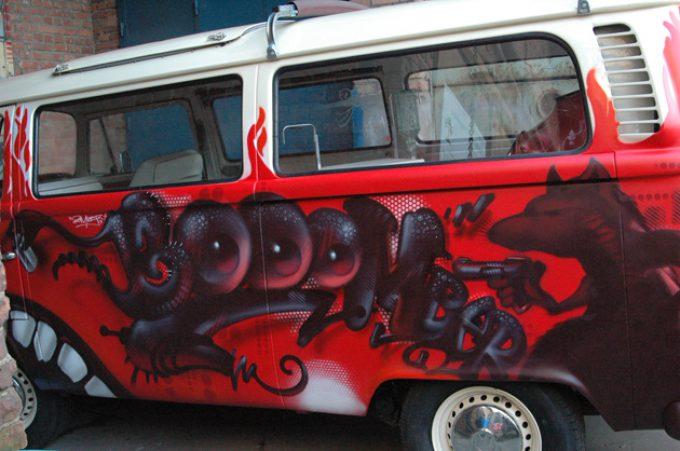 Hippiebus, einmal anders