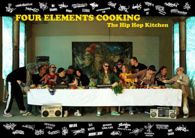 Do the chicken, do the mashed potato: The Hip Hop Cookbook – Four Elements Cooking