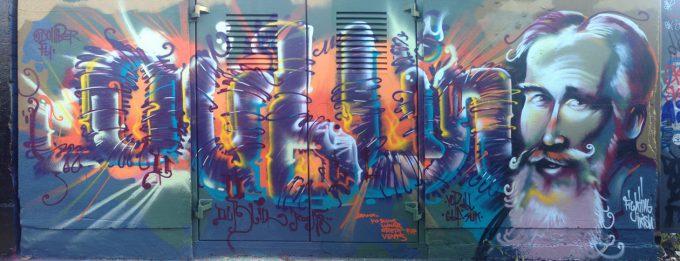 TEDx Street Art Ausstellung/Exhibition im Google Cultural Institute