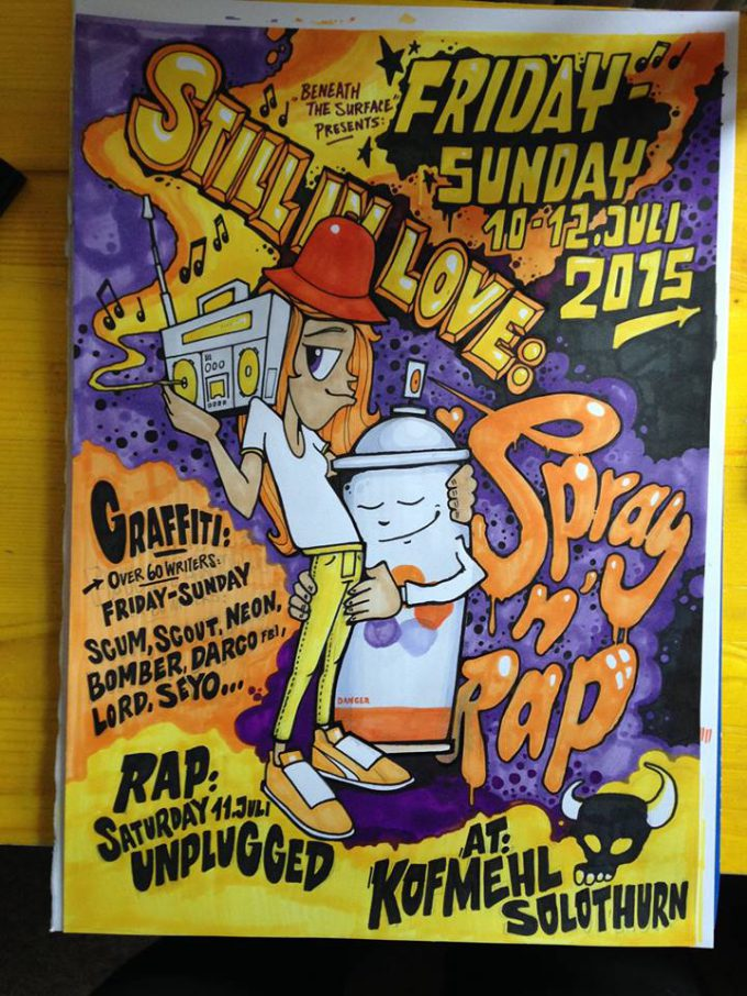 Spray' n'Rap